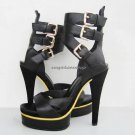 "2010 Hot ladies' high heel ""Gucci>sandals"