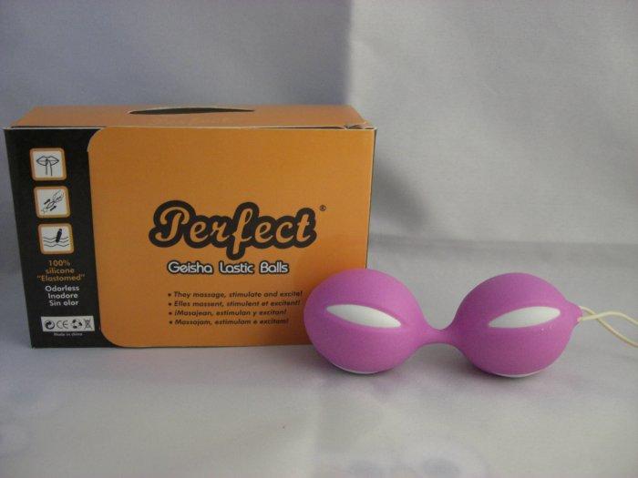 Perfect Geisha Lastic Balls - Pink