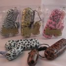 Animal Print Bullet Vibrator - Green Zebra