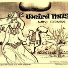 Weird Muse Mini Comics no. 1