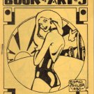 Book of Art no. 5 vintage mini comic 1980