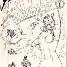 Writing Wrongs no. 1 newave comix 1980