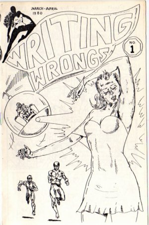 Writing Wrongs no. 1 newave comix 1980