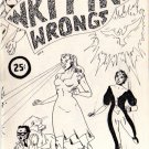 Writing Wrongs no. 2 newave comix 1980