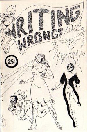 Writing Wrongs no. 2 newave comix 1980