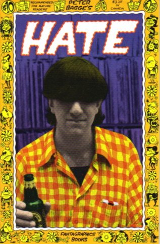 HATE no. 10  Peter Bagge