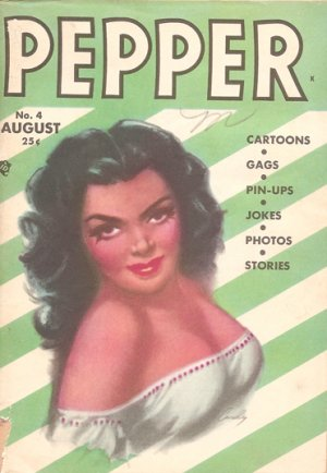 Pepper no. 4 August 1948  Vintage pinups Nick Cardy