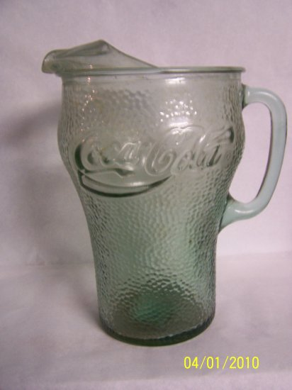 Coca Cola Glass Pitcher