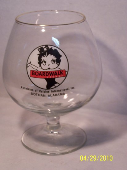Betty Boop Large Brandy Glass