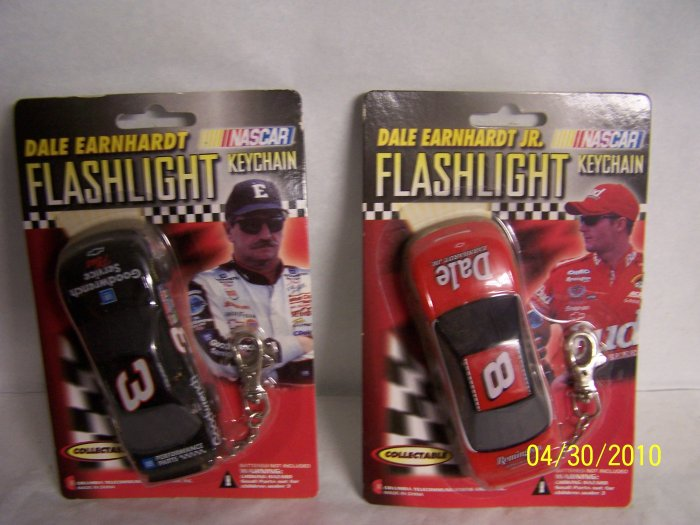Dale Ernhart and Jr Flashlights