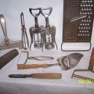 Old Peelers & Peelers & Graters