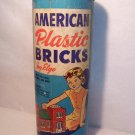 ***SOLD***American Plastic Bricks  by Elgo