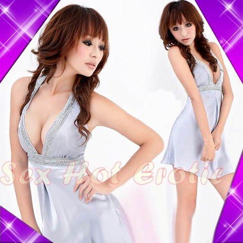 Hot Sexy Lingerie & Cute women underwear sleep dress badydoll BD#04