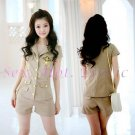 Camouflage Costume Cosplay coat Lingerie Hot Sexy Cute women badydoll CC02A