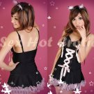 Sexy & Cute Costume Kitty Cat Lingerie Hot Puss Cat Cosplay Dress with Ears CC# 13