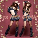 Sexy & Hot Cow Girl Costume Lingerie Cosplay Fullset CG# 02