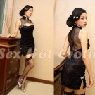 Chinese Cheongsam Costume Cosplay coat Lingerie Hot Sexy Cute women badydoll CS10