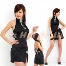Chinese Cheongsam Costume Cosplay coat Lingerie Hot Sexy Cute women badydoll CS11