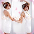 Chinese Cheongsam Costume Cosplay coat Lingerie Hot Sexy Cute women badydoll CS12