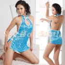 Chinese Cheongsam Costume Cosplay coat Lingerie Hot Sexy Cute women badydoll CS14