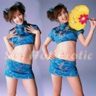 Chinese Cheongsam Costume Cosplay coat Lingerie Hot Sexy Cute women badydoll CS19