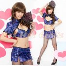 Chinese Cheongsam Costume Cosplay coat Lingerie Hot Sexy Cute women badydoll CS27