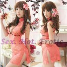 Chinese Cheongsam Costume Cosplay coat Lingerie Hot Sexy Cute women badydoll CS28