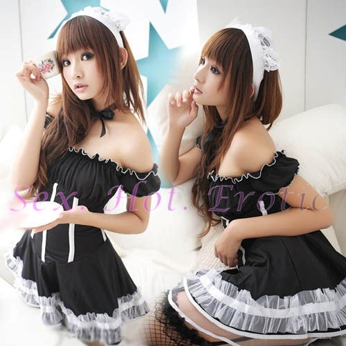 New Lolita Princess Girl Cosplay dress Costume lace cake Cute & Sexy Lingerie LO# 02