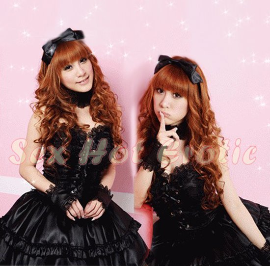New Lolita Princess Girl Cosplay dress Costume lace cake Cute & Sexy Lingerie LO# 03