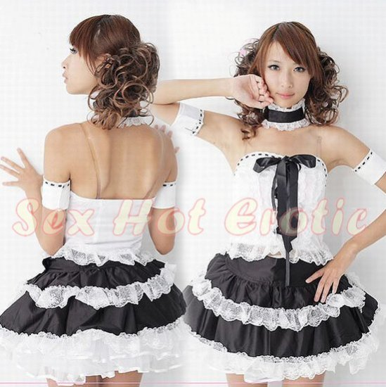 New Lolita Princess Girl Cosplay dress Costume lace cake Cute & Sexy Lingerie LO# 05