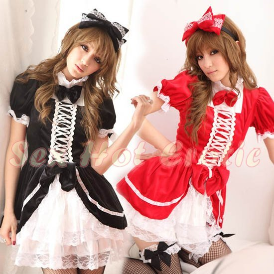 New Lolita Princess Girl Cosplay dress Costume lace cake Cute & Sexy Lingerie LO# 08