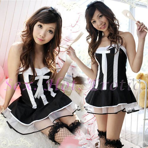 New Lolita Princess Girl Cosplay dress Costume lace cake Cute & Sexy Lingerie LO# 10