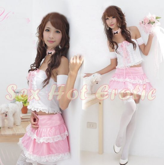 New Lolita Princess Girl Cosplay dress Costume lace cake Cute & Sexy Lingerie LO# 11