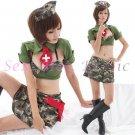 New Hot Women Lingerie Sexy Nurse Cosplay Adult Costume Dress NU# 02