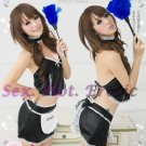 French Maid Costume Cosplay Japanese coat Lingerie Hot Sexy Cute women badydoll MC02