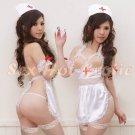 New Hot Women Lingerie Sexy Nurse Cosplay Adult Costume Dress NU# 06