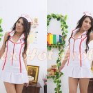 New Hot Women Lingerie Sexy Nurse Cosplay Adult Costume Dress NU# 07