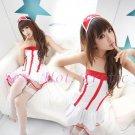 New Hot Women Lingerie Sexy Nurse Cosplay Adult Costume Dress NU# 08