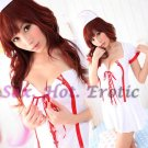 New Hot Women Lingerie Sexy Nurse Cosplay Adult Costume Dress NU# 09