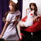 New Hot Women Lingerie Sexy Nurse Cosplay Adult Costume Dress NU# 10