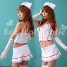 New Hot Women Lingerie Sexy Nurse Cosplay Adult Costume Dress NU# 11