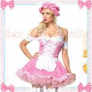 French Maid Costume Cosplay Japanese coat Lingerie Hot Sexy Cute women badydoll MC05