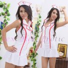 New Hot Women Lingerie Sexy Nurse Cosplay Adult Costume Dress NU# 15