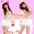 New Hot Women Lingerie Sexy Nurse Cosplay Adult Costume Dress NU# 20