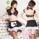 French Maid Costume Cosplay Japanese coat Lingerie Hot Sexy Cute women badydoll MC08