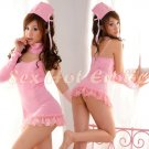 New Hot Women Lingerie Sexy Nurse Cosplay Adult Costume Dress NU# 24