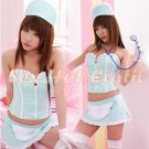 New Hot Women Lingerie Sexy Nurse Cosplay Adult Costume Dress NU# 25