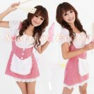 French Maid Costume Cosplay Japanese coat Lingerie Hot Sexy Cute women badydoll MC09