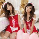 French Maid Costume Cosplay Japanese coat Lingerie Hot Sexy Cute women badydoll MC10