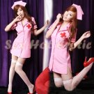 New Hot Women Lingerie Sexy Nurse Cosplay Adult Costume Dress NU# 32